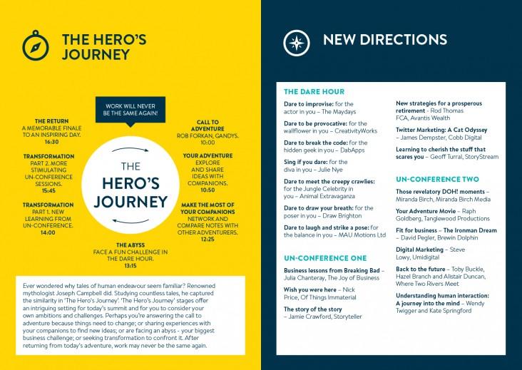 Brochure design for BHCC