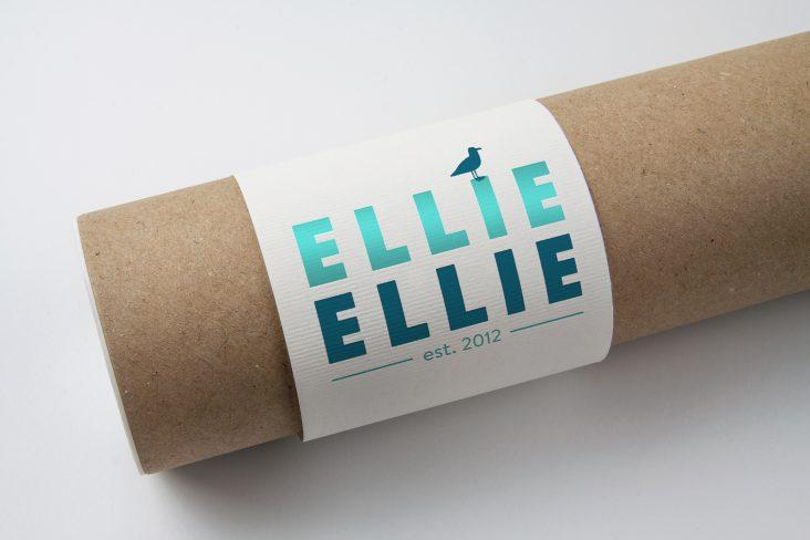 Ellie Ellie label design work