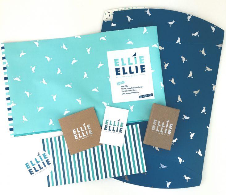 Ellie Ellie packaging design work