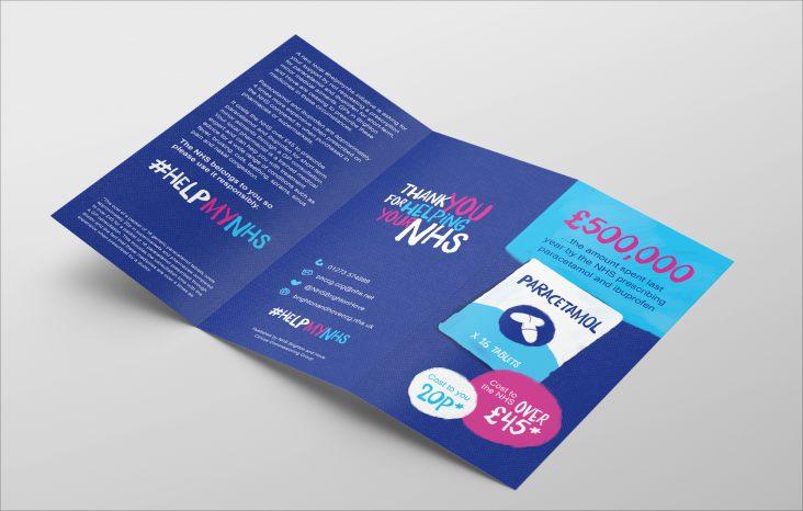 nhs campaign leaflet