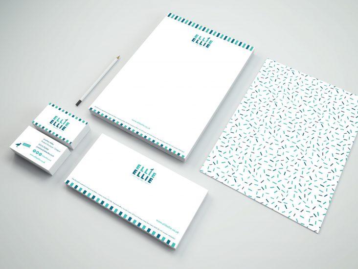 Ellie Ellie stationery design work