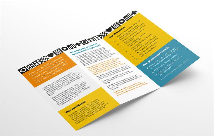 Catch22 flyer design